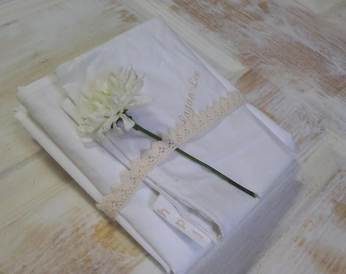 Linen Crib Sheet, Fitted Baby Sheet, Linen Fitted Sheets, Baby Sheet, White Sheets, Cot Sheet, Crib Sheet
