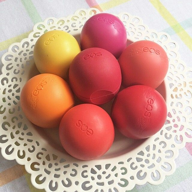 Treat your lips with EOS lip balms #bahrain #amwaj #manama #eosbahrain #bloomingbody #ksa