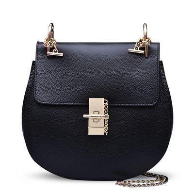 2015 New qualidade PU porco couro saco de Drew Clain pequenos sacos de ombro famosas bolsas de grife e bolsas Sac a principal Bolsa Feminina em Bolsas de Ombro de Bagagem & Bags no AliExpress.com | Alibaba Group