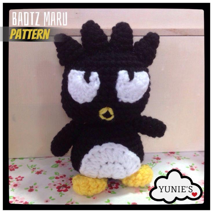 Free crochet pattern : Badtz Maru