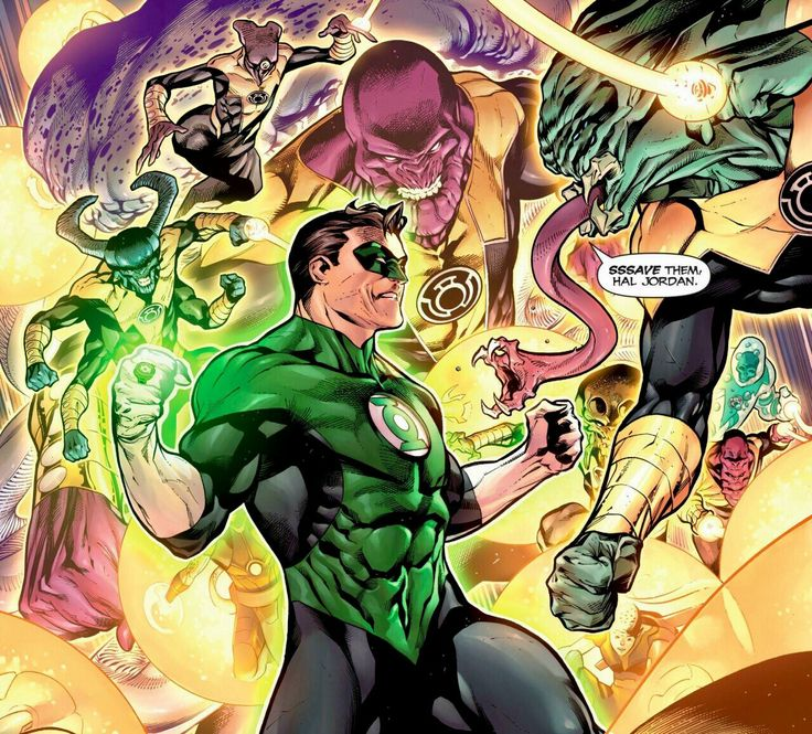 Rafa Sandoval Green Lantern Hal Jordan