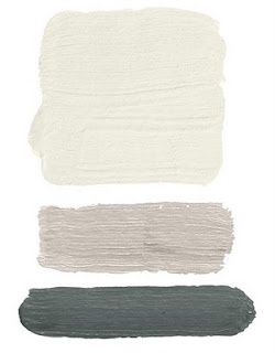 'down pipe' Farrow and Ball with 'strong white' and 'blackened'