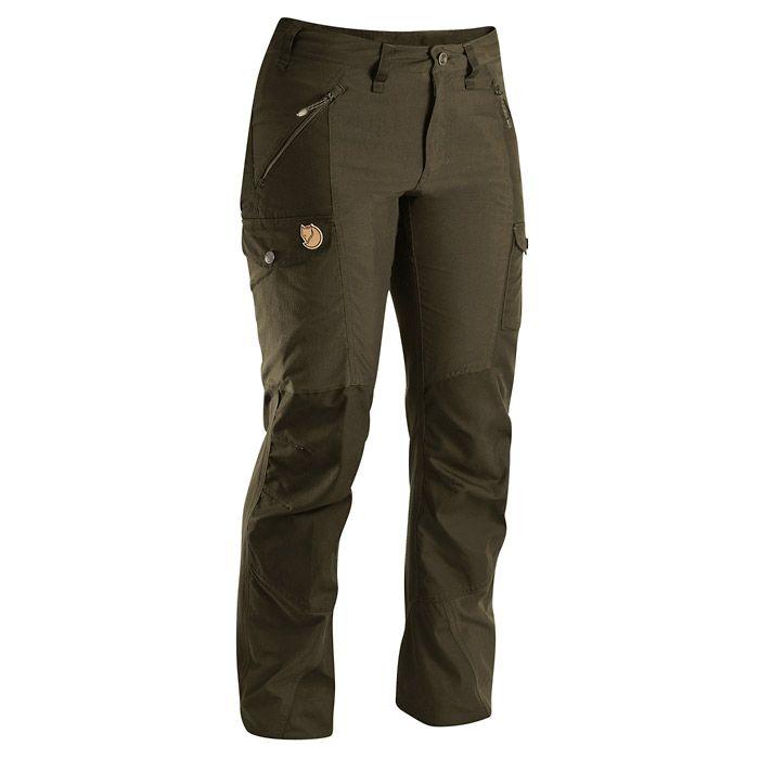 Style, comfort and durability!  Fjallraven Nikka Women's Trousers - Dark Olive