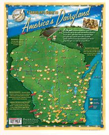 wisconsin cheese map