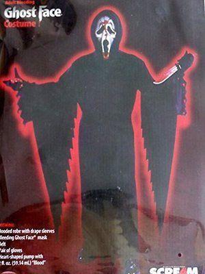 Fun World Costumes Adult Scream Costume, Black, One Size