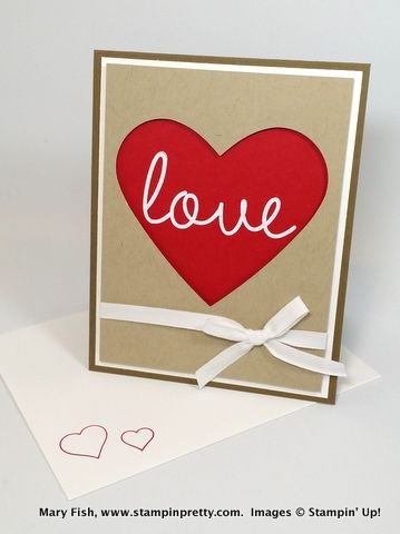 479 best Valentines Day Stampin Up Cards images on Pinterest