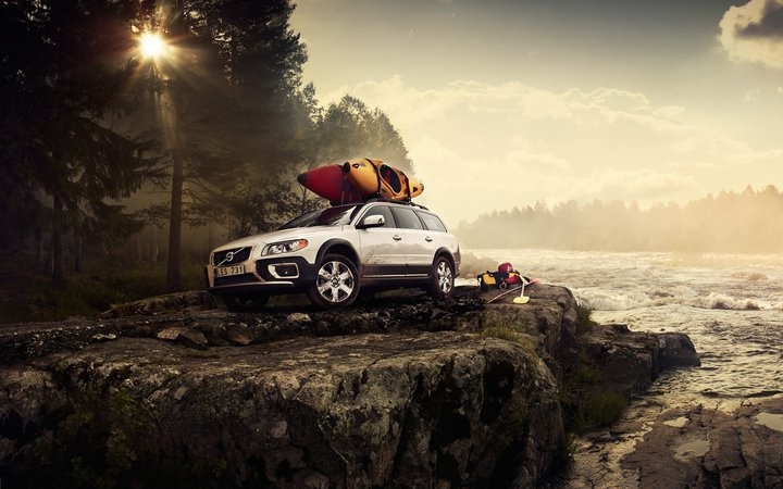 Load up your #XC70 for a Whitewater Kayaking trip!  www.fairfaxvolvo.com