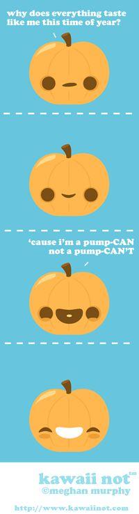 Pumpkin Flavored (Kawaii Not Comic)