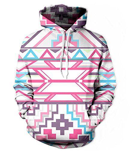 RedBeana Unisex Geometric Figure Print Hoodie Pullover Sweatershirt Multi Color Small RedBeana http://www.amazon.com/dp/B01716ZT10/ref=cm_sw_r_pi_dp_okcJwb03K7C5P