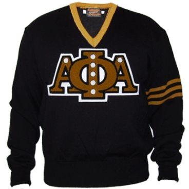 Alpha Phi Alpha sweater
