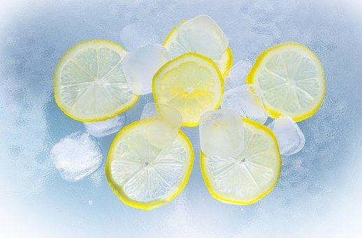 Cytryny, Lód, Wody, Lato