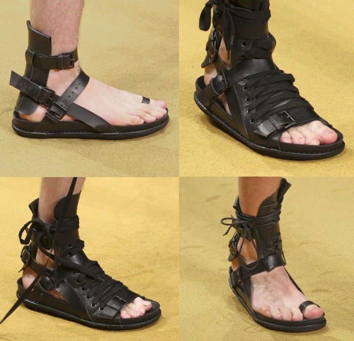 Ann Demeulemeester SS12 Sandals
