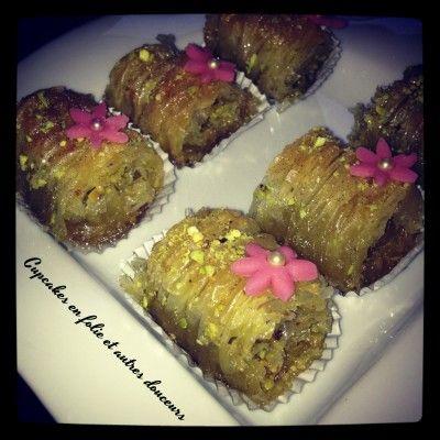 Baklava roll (gâteau aïd)