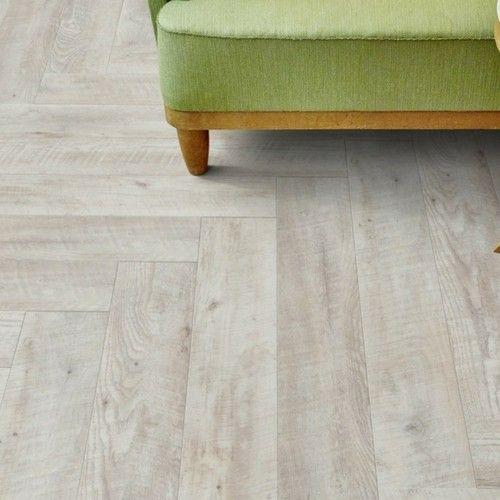 Herringbone Luxury Vinyl Flooring - Moduleo Impress Castle Oak 55152