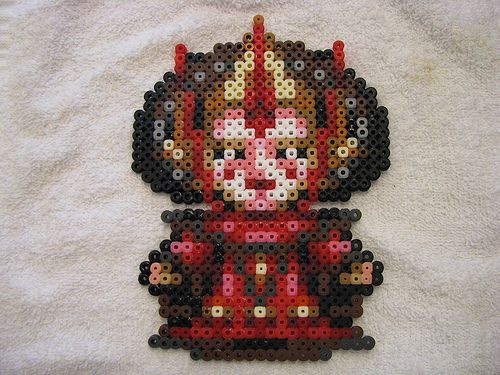 Amidala Wee Star Wars hama perler fuse beads by TheSistersBlythe