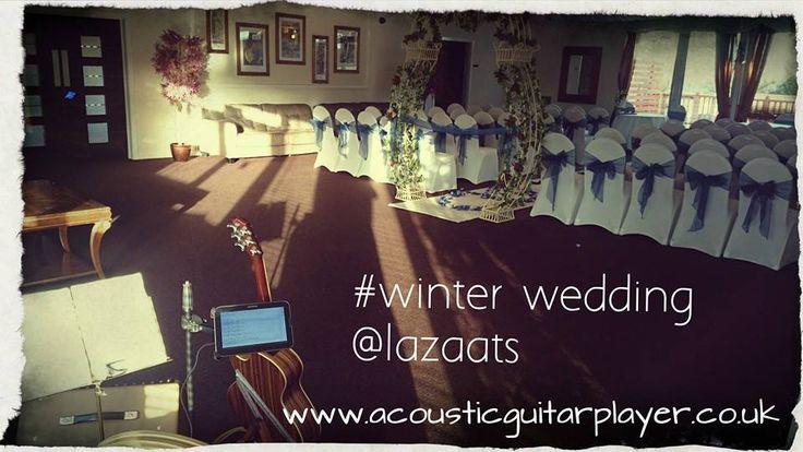 Winter wedding at the lazaats.  www.acousticguitarplayer.co.uk