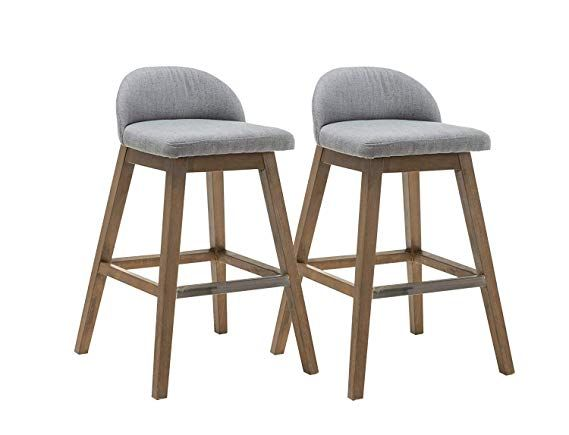 Kmax Patio Bar Height Stools Set Fabric Accent Counter Height Bar