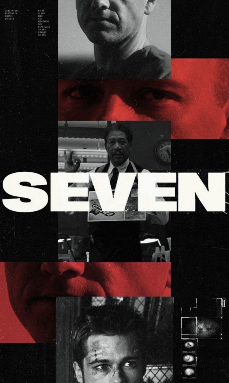 Se7en movie in 2020 | Poster design, Poster, Graphic image