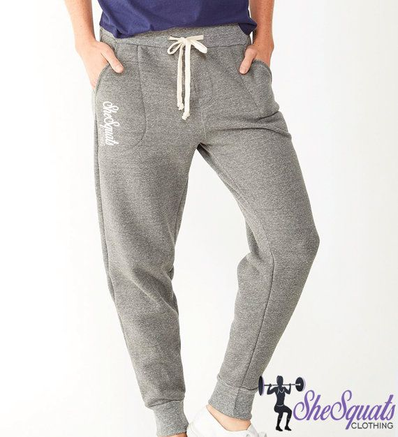 Ladies jogger boyfriend sweatpants. skinny sweatpants. running pants. womens drop crotch sweatpants. Price: $29.95 USD Discount code: (pinterest15)