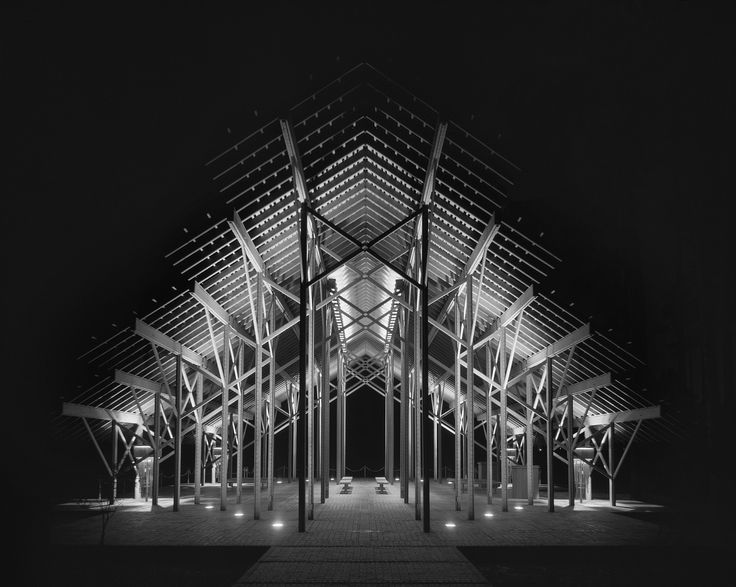 Pinecote pavilion picayune mississippi fay jones for Jones architecture