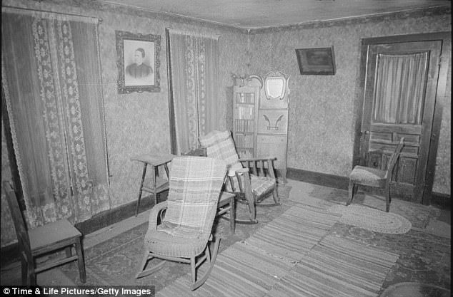 Amidst the grotesque disarray of the rest of the farmhouse, Gein kept the bedroom of his dead mother - a fervently religious, domineering force in his life - as a neat, untouched shrine