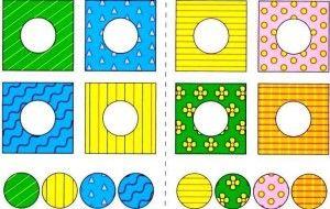 anaokulu desen eşleme oyunu   Evimin Altın Topu