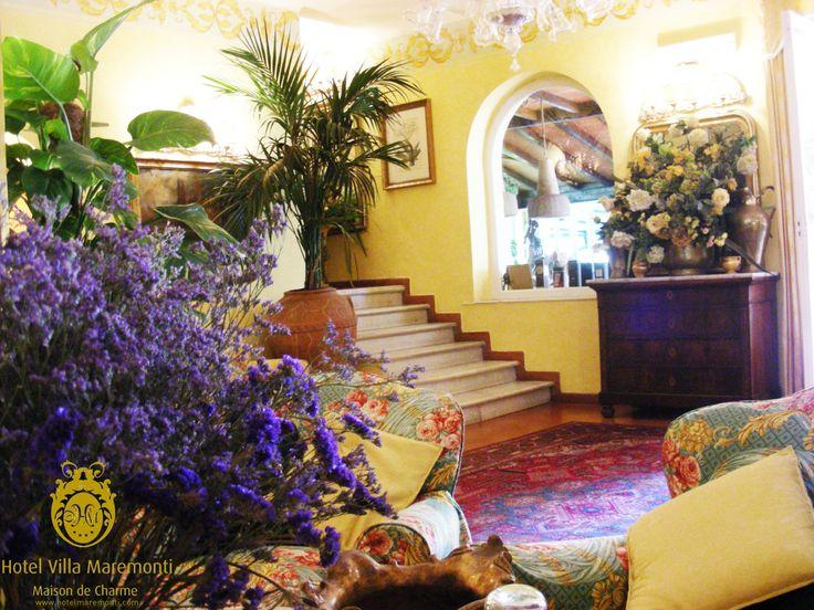 You are #welcome! #hotel #villamaremonti #hall #boutiquehotel #fortedeimarmi #versilia#tuscany #italy