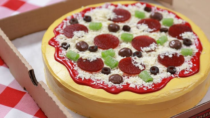 How To Make A Pizza Cake | Simple And Easy Recipes