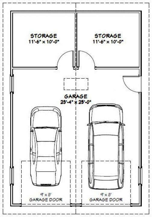 Popsugar Garage Door Sizes Garage Plans Garage Dimensions