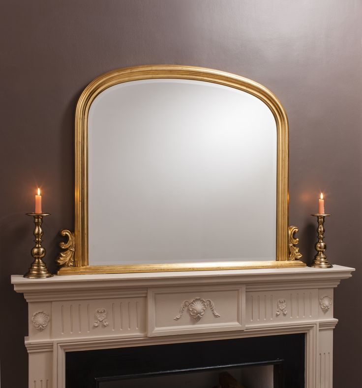 Thornby Mirror in Gold | Temple & Webster