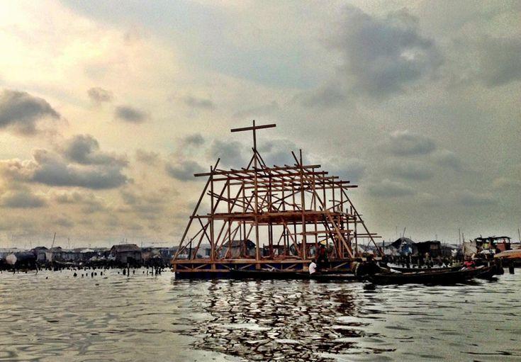 NLE architects - Makoko Floating School