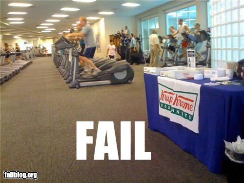 Major Fail..what kind of a crappy gym does this?!