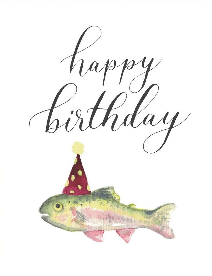 Happy Birthday to You! holy mackerel