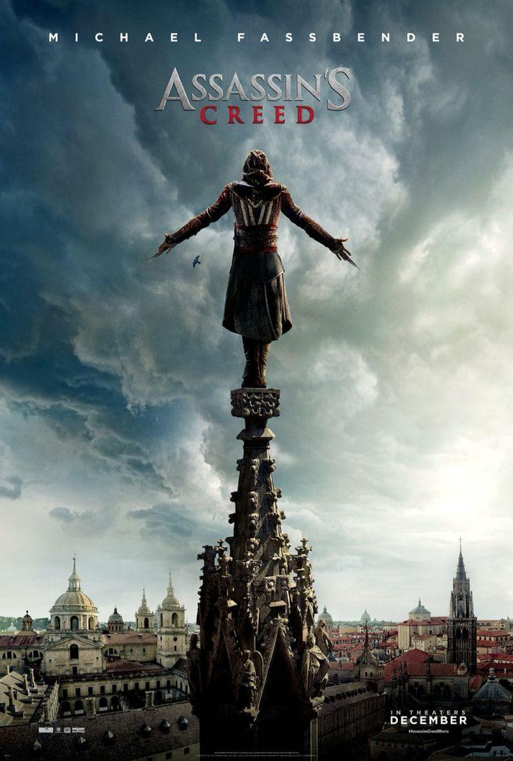 Assassins Creed (2016) ★★★★ - Um ótimo filme! Eu nunca joguei o game e não conhecia absolutamente nada da história, mas o enredo me envolveu e gostei muito do filme. Fui pelo Michael, admito, mas saí de lá super curiosa com os próximos filmes da trilogia!