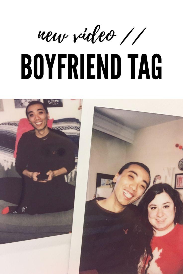 My boyfriend and I did the boyfriend tag - it's pretty cute if I say so myself!!! Enjoy!