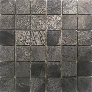 Silver Slate Stone Tile 2x2 Honed Mosaic 11 99