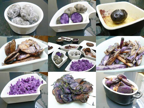 Comment cuisiner la pomme de terre violette «vitelotte» ?