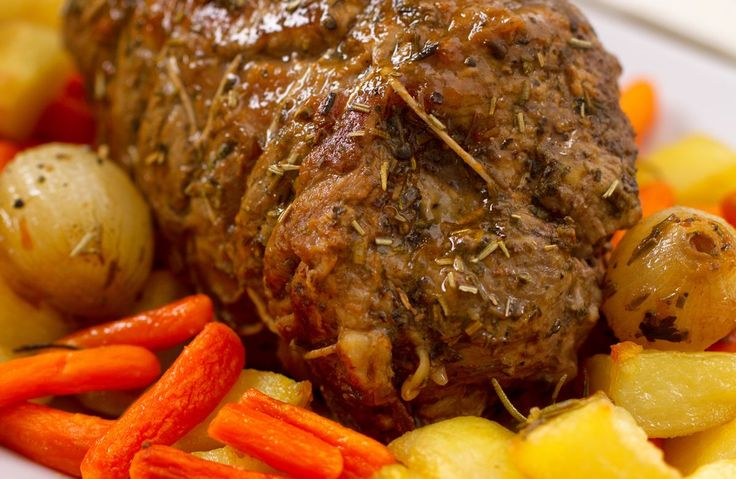 Try using an English Cut Beef Roast.  It is economical and flavorful.  This cut of meat comes from the shoulder or neck area of the animal.