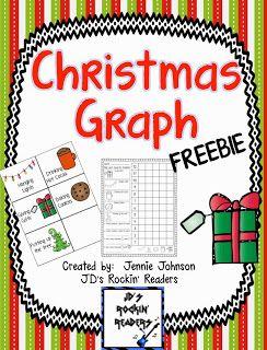 Christmas Graph FREEBIE