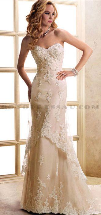 free vine style lace wedding dress samples