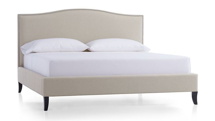 "Colette Upholstered California King Bed - 78.25"" W x 91"" D x 52.5"" H"