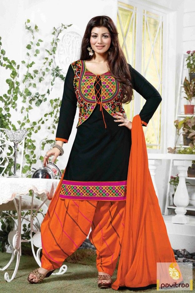 Cheap price bollywood cotton black patiala dress is worth to buy for foremost occasions like wedding and party. This is very fascinating salwar kameez. #salwarsuit, #bollywoodstarsalwarkameez, #indiandresses, #dress, #ayeshatakiawear, #dressesonline, #womensdresses, #casualdresses, #dhotistyledresses, #officewearsalwarsuit, #patialasalwarkameez More : http://www.pavitraa.in/store/bollywood-salwar-suit/ Any Query: Call Us:+91-7698234040