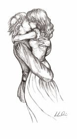 ZiZinG: Pencil Sketches Of Couples and Friends Kiss ~ ZiZinG Part-II