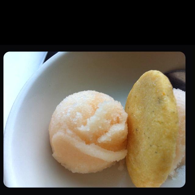 Pear sorbet | yummies | Pinterest