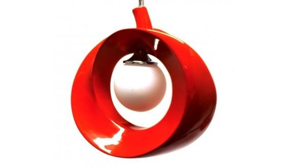Apple Pendant - Aluminium - Red 360*340*140mm