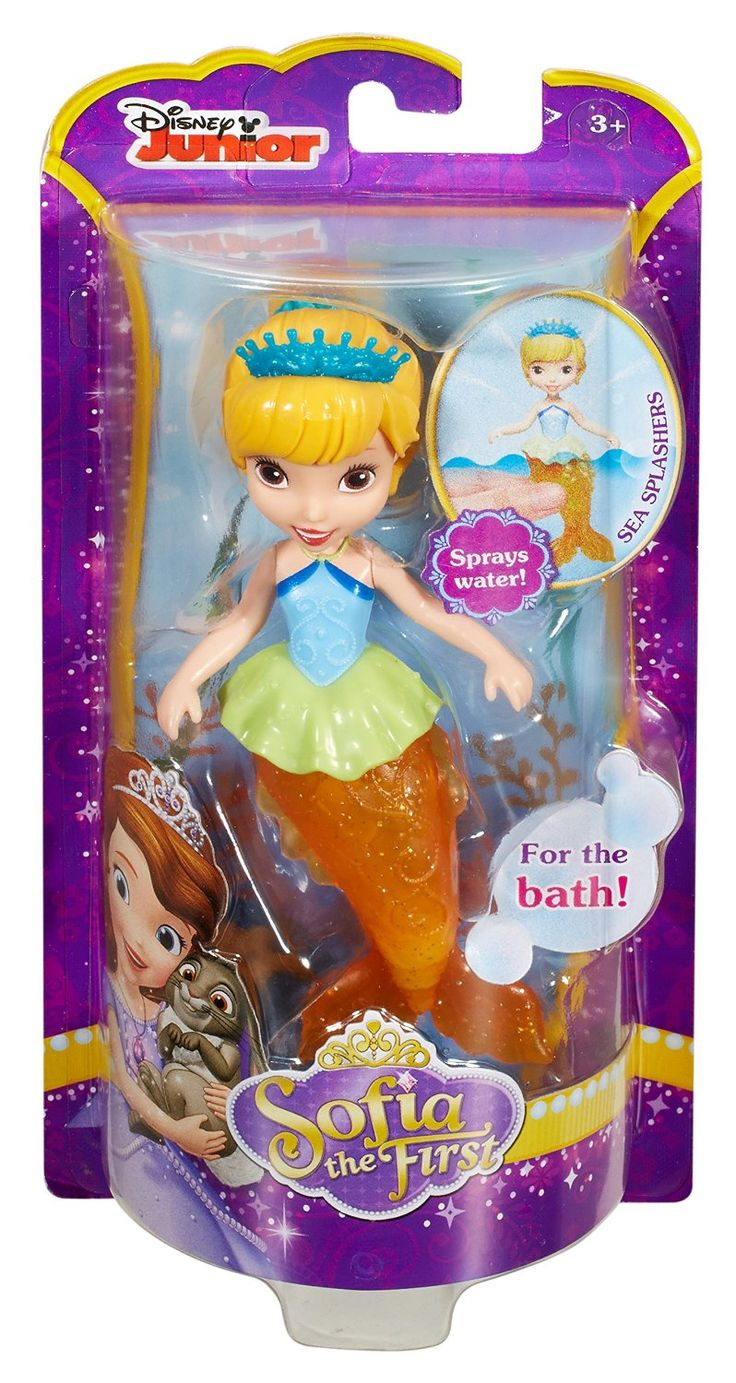 Amazon.com: Disney Sofia the First Oona Mermaid Bath Figure: Toys & Games