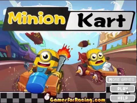 Play game at http://www.y8-games.name/minion-kart.html. Every three years the World Cup race started, is located in the desert and forest zone, the game difficulty. All of the players are ready, they experienced countless games, racing technology is very good, do you can beat them defending champion?