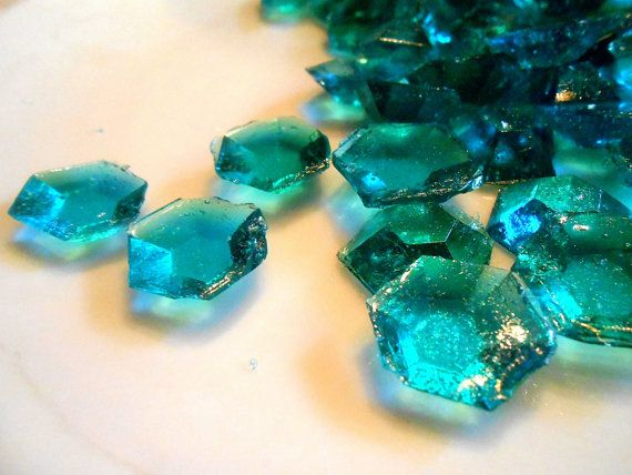 Hey, I found this really awesome Etsy listing at https://www.etsy.com/listing/204324127/120-teal-edible-sugar-diamonds-jewels