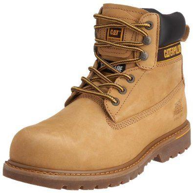 CAT Holton 708026 - Botas de seguridad SB para hombre: Amazon.es: Zapatos y complementos