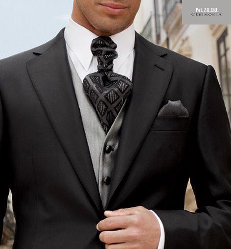 Abito Da Sposo 2011 Pal Zileri 37 particolare nodo cravatta